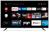 Xiaomi Mi Smart TV 4S 65 Zoll (4K Ultra HD, Triple Tuner, Android TV 9.0, Fernbedienung mit Mikrofon, Amazon Prime Video und Netflix)
