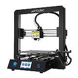 ANYCUBIC Mega S 3D Drucker mit Aktualisiertem Extruder, FDM DIY Drucker mit Verbesserter Touchscreen und Ultrabase Heizbett, Funktioniert mit TPU/PLA/ABS, Druckgröße 210x210x205mm