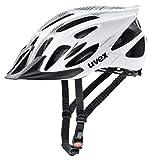 Uvex Unisex– Erwachsene Flash Radhelm, White Black, 57-61