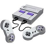 Aiboria Retro Classic Spielekonsole, HDMI HD-Ausgang Classic Childhood Classic Game Integriertes 821-Spiel, mit 2 Joysticks, Videospielkonsole für Familienfernsehen (grau)