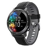 gandley Smartwatch, Fitness Tracker Armbanduhr für Damen Herren, IP68 Wasserdicht Sportuhr mit Pulsuhr, Schlafmonitor, Schrittzähler, Blutdruckmessung, Touchscreen Smart Watch Rund für IOS Android