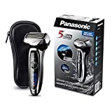 Panasonic Nass/Trocken-Rasierer ES-LV65 passt sich flexibel der Gesichtsstruktur an, Elektro-Rasierer für Herren, Shaver, für gründliche Bart-Pflege