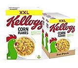 Kellogg's Corn Flakes Cerealien | 3er Vorratspack | 3 x 1kg