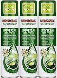 Imprägnol Waterproof Universal 100% PFC-frei: Imprägnier-Spray geeignet für Textilien, Leder und Hightechgewebe, 400 ml, 3er Pack