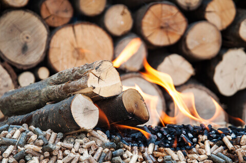 http://www.dreamstime.com/stock-image-pellets-biomass-different-kind-fire-woods-flames-image41339541